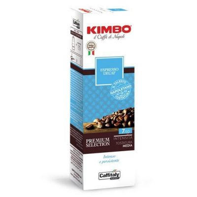 10 Capsule Caffitaly System Kimbo Decaffeinato