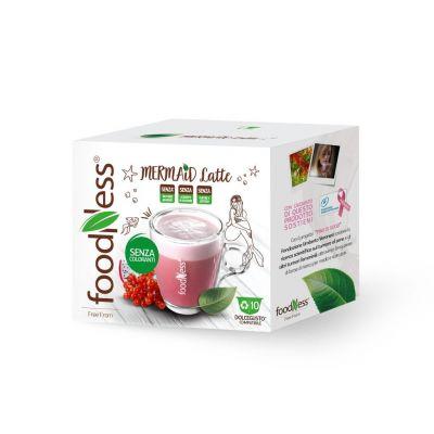 10 capsule FoodNess Mermaid Latte compatibili Dolce Gusto