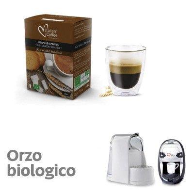 16 capsule Orzo solubile biologico compatibili Lavazza Firma, Vitha Group, Rivo