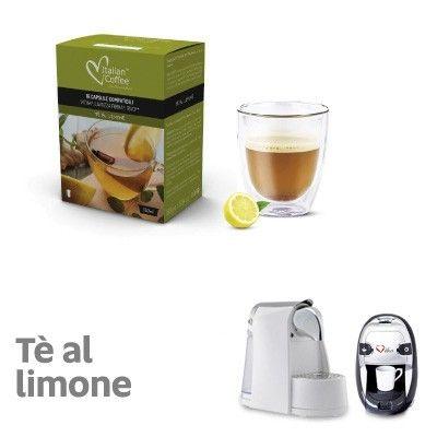 16 capsule Tè al Limone compatibili Lavazza Firma, Vitha Group, Rivo