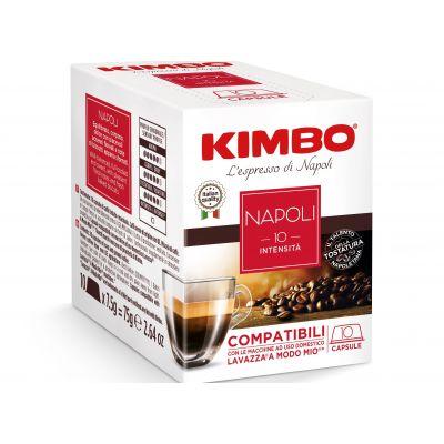 Capsule Kimbo Compatibili A Modo Mio Napoli (box 10 capsule)