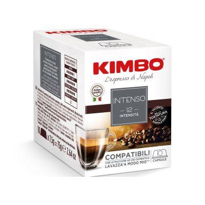 Capsule KIMBO compatibili A MODO MIO Intenso (box 10 caps)