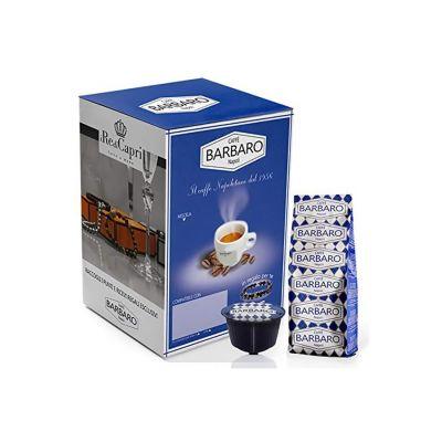 100 Capsule Caffè Barbaro cremoso Napoli compatibili Dolce Gusto