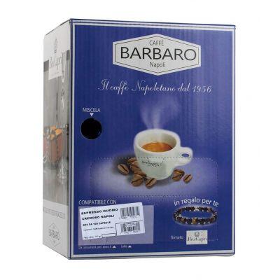 Barbaro Compatibili Cuorespresso Caffè Cremoso Napoli | 100 Capsule
