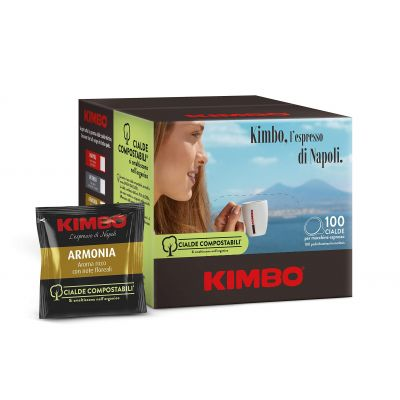 100 Cialde ESE 44mm caffè Kimbo Armonia