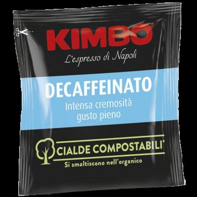 Caffè Kimbo Decaffeinato - Box 100 CIALDE ESE44 da 7g