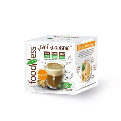 Caffè al Ginseng Classico FoodNess compatibili A Modo Mio