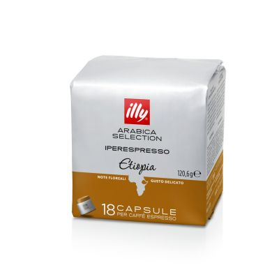 18 Capsule caffè Illy Iperespresso Arabica Selection Etiopia
