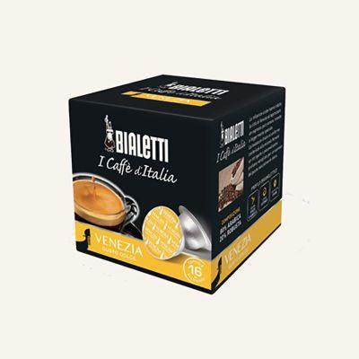 16 Capsule caffè Venezia Bialetti originali
