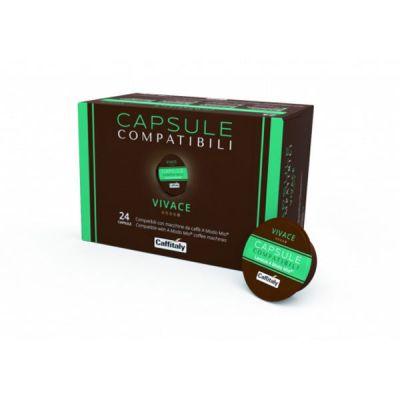24 Capsule Caffitaly Compatibili A Modo Mio Vivace