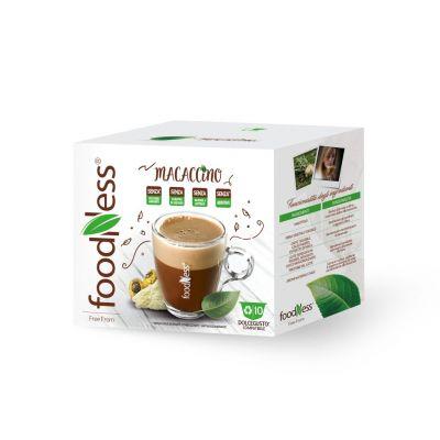10 Capsule Foodness Compatibili Dolce Gusto Macaccino