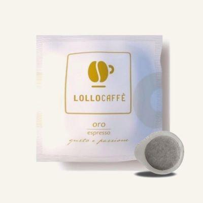 150 Cialde 44mm espresso Oro Lollo Caffè