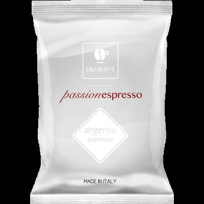 100 Capsule Lollo Passionespresso Argento Compatibili Nespresso