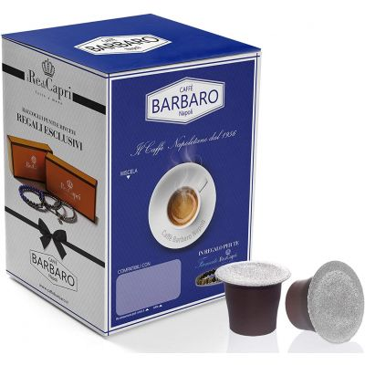 100 Capsule Barbaro Compatibili Nespresso Cremoso Napoli