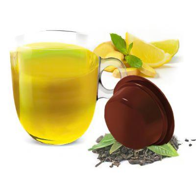 10 Capsule Bonini Compatibili A Modo Mio Tisana Zenzero e limone