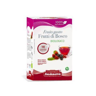 18 Cialde Sandemetrio Compatibili Ese 44mm Frutti Di Bosco Bio