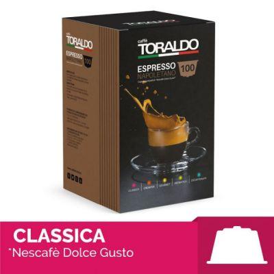 100 Capsule Toraldo Compatibili Dolce Gusto Miscela Classica