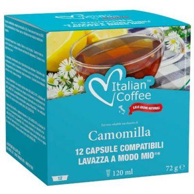 12 Capsule Italian Coffee Compatibili A Modo Mio Camomilla