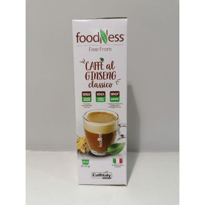 10 Capsule Caffitaly System Foodness Ginseng Classico