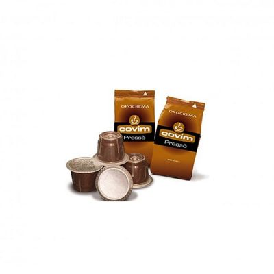 50 Capsule Covim Compatibili Nespresso Orocrema
