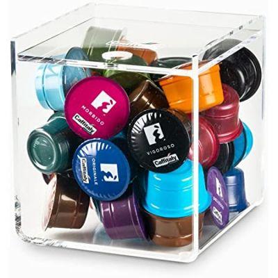 1 Pezzo Caffitaly Compatibili Accessori Portacapsule Cubo