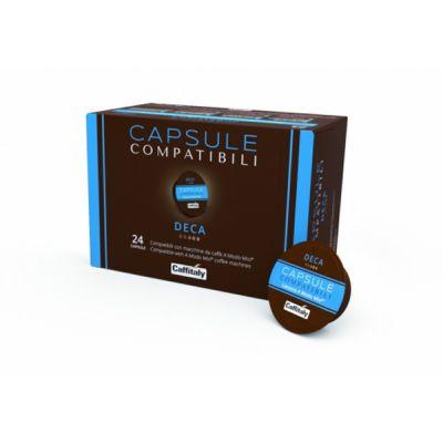 24 Capsule Caffitaly Compatibili A Modo Mio Decaffeinato