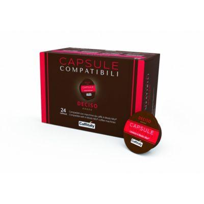 24 Capsule Caffitaly Compatibili A Modo Mio Deciso