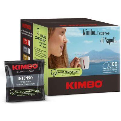 100 Cialde Kimbo Compatibili Ese 44mm Intenso