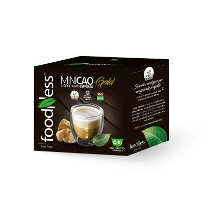 MINICAO® Gold- Compatibili DolceGusto®   FoodNess 10 capsule