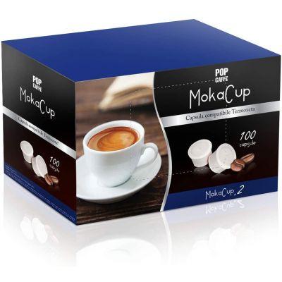 100 Capsule Pop Caffè Compatibili Domo Cremoso