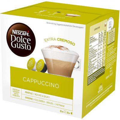 16 Capsule Nescafé Compatibili Dolce Gusto Cappuccino