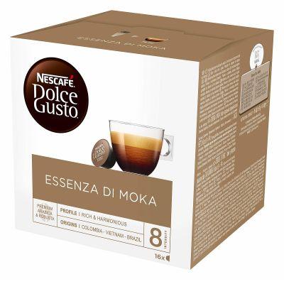 16 Capsule Nescafé Compatibili Dolce Gusto Essenza Di Moka