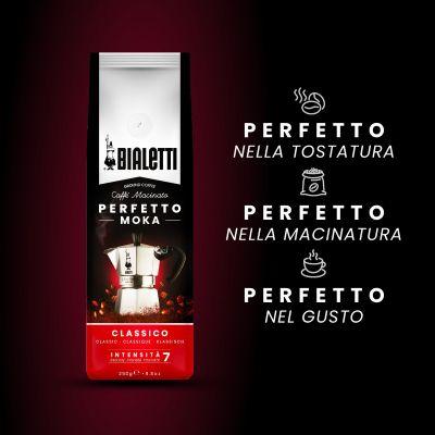 1 Pezzo Bialetti Compatibili Macinato Perfetto Moka Classico