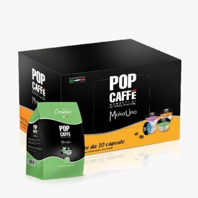10 Capsule Pop Caffè Compatibili Uno System Cremoso .2