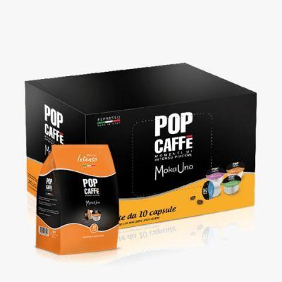 10 Capsule Pop Caffè Compatibili Uno System Intenso .1