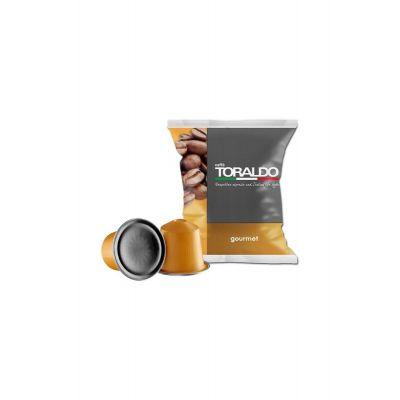 100 Capsule Toraldo Compatibili Nespresso Miscela Gourmet