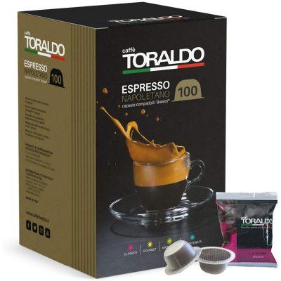 100 Capsule Toraldo Compatibili Bialetti Miscela Classica