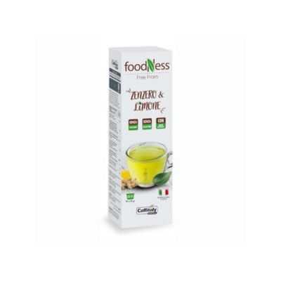 10 Capsule Caffitaly System Foodness Zenzero  Limone